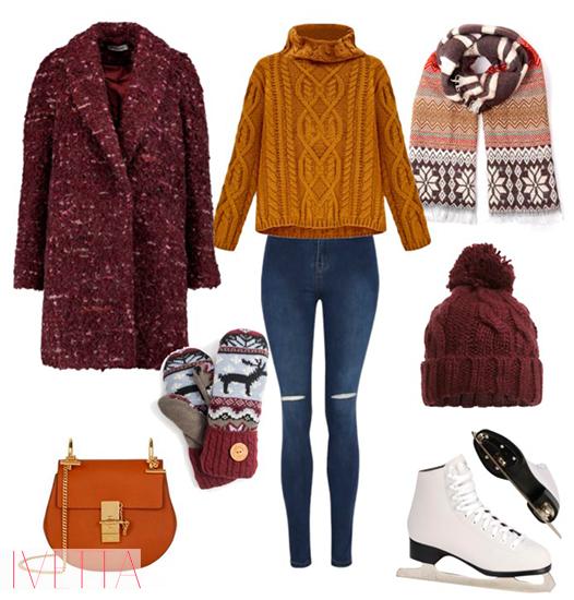 Образ № 4 - Джеггинсы и классический свитер