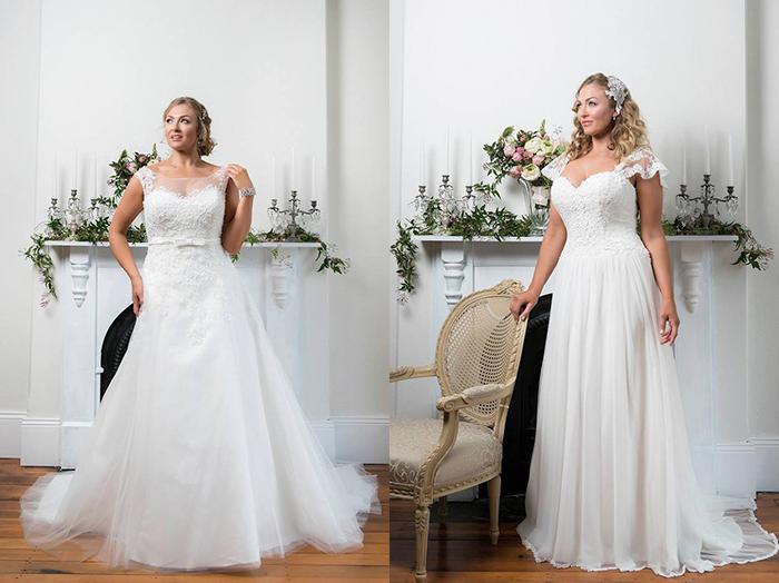 Свадебные платья-бюстье Sophhia Tolli
