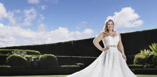Свадебный наряд для пышной фигуры