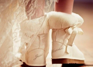 Сапоги для невесты