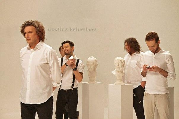 фронтмен группы Скрябін Андрей Кузьменко на сьемках клипа Дельфины 2