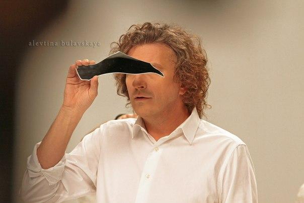 фронтмен группы Скрябін Андрей Кузьменко на сьемках клипа Дельфины 3