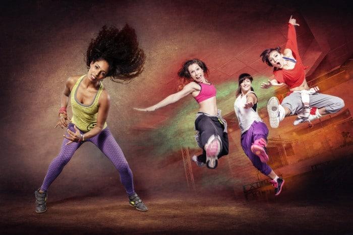 танец зумба