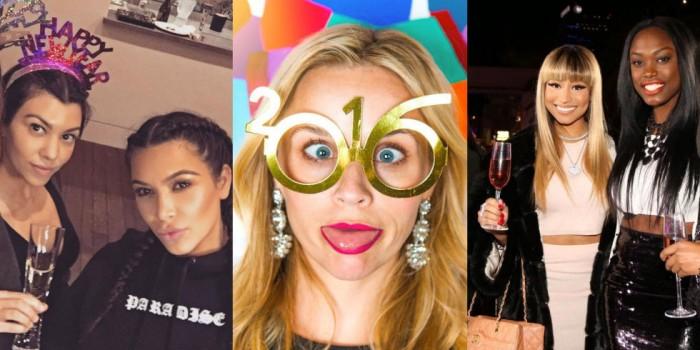 как встретили и провели Новый год западные звезды