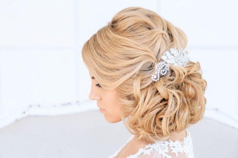 Идеи прически невесты для разной длины волос (фото)