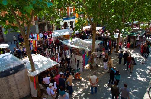 Mercado Rastro (Мадрид, Испания)