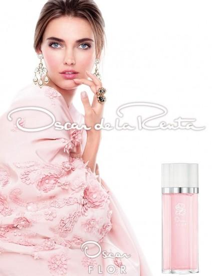 Алина Байкова в рекламе Oscar de la Renta