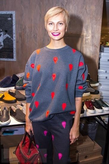 Главный редактор украинского Vogue Маша Цуканова