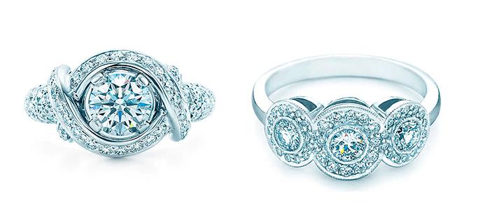 Классические кольца для помолвки, Tiffany