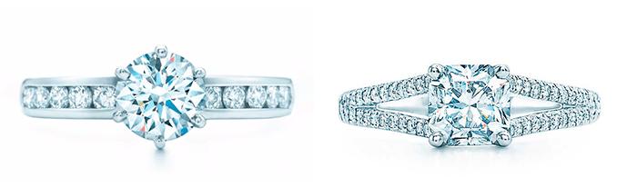 Классические кольца для помолвки, Tiffa