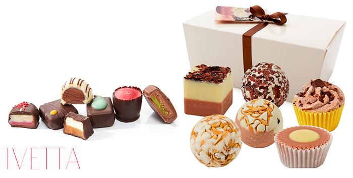 коробочка сладостей ручной работы