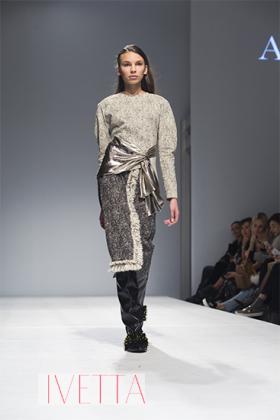 Показ Anouki в рамках Mercedes-Benz Kiev Fashion