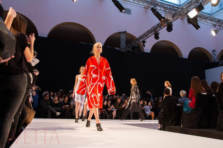 Показ Shakshyn в рамках Mercedes-Benz Kiev Fashion Days