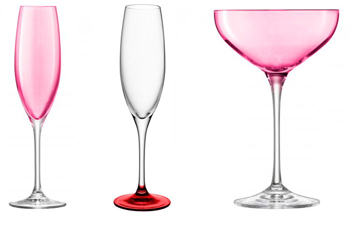 Бокалы и стаканы для романтических напитков от LSA International