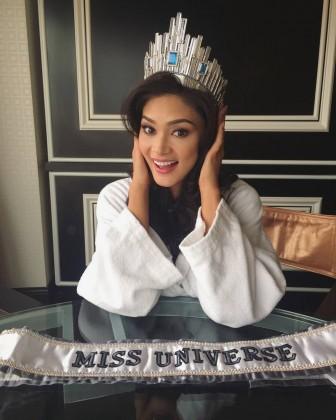 Мисс Вселенная Пиа Вурцбах