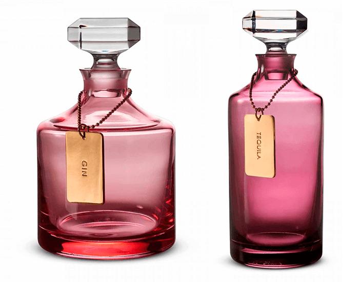 Бокалы, фужеры, стаканы и графины для напитков цвета любви от Waterford