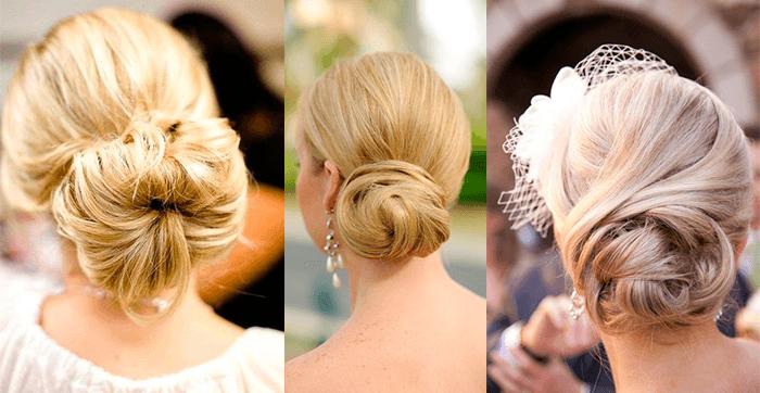 прическа невесты - Длинные собранные волосы