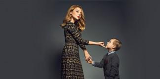 Певица Тина Кароль и 8-летний Вениамин