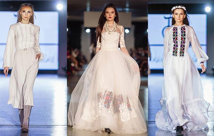 Свадебные вышиванки платья