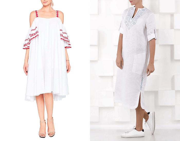 Современные вышитые платья для невест от Varenyky Fashion