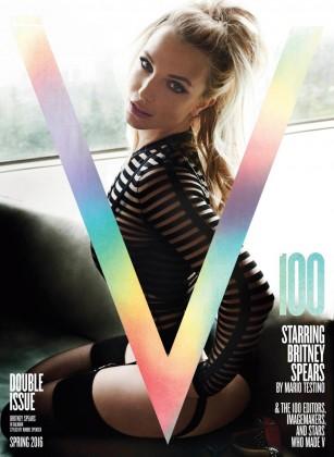 Бритни Спирс на обложке журнала V
