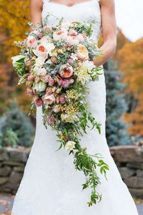весенний букет невесты