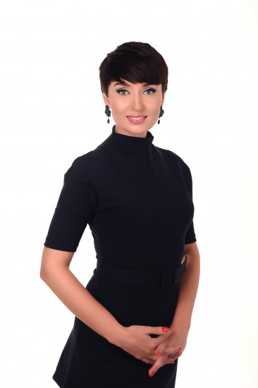 Ведущая телеканала Татьяна Хмельницкая