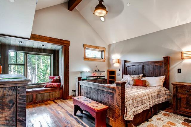 Спальни в стиле слияния с пр