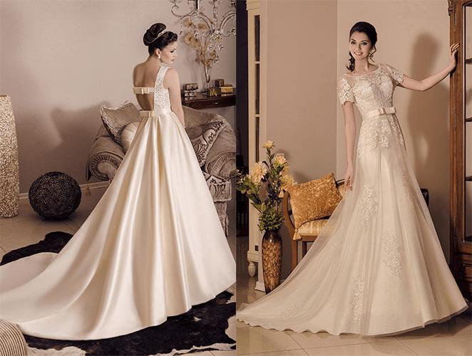 Кружевные и шелковые платья от Victoria Karandasheva