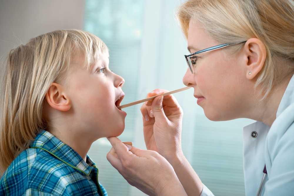 Лечение хронического тонзилита у детей