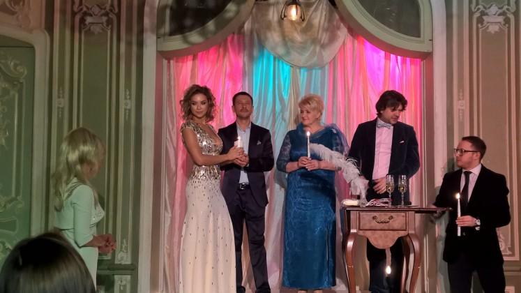Свадебная церемония Дмитрия Ступки и Полины Логиновой