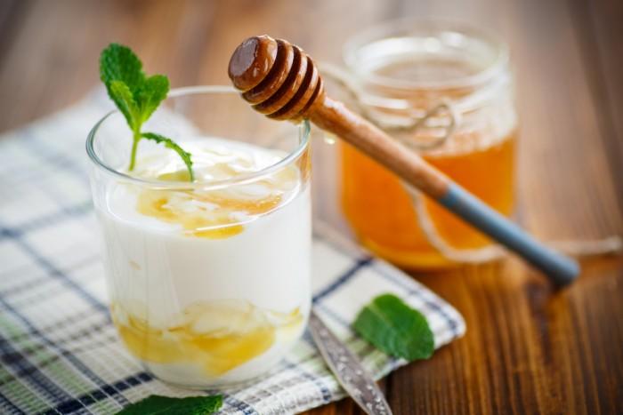 Йогурт с медом