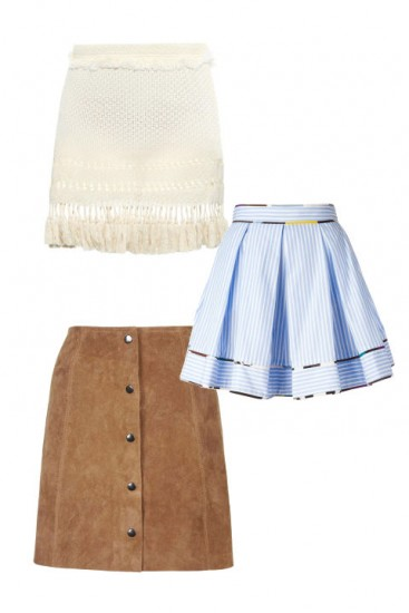 Мини-юбки