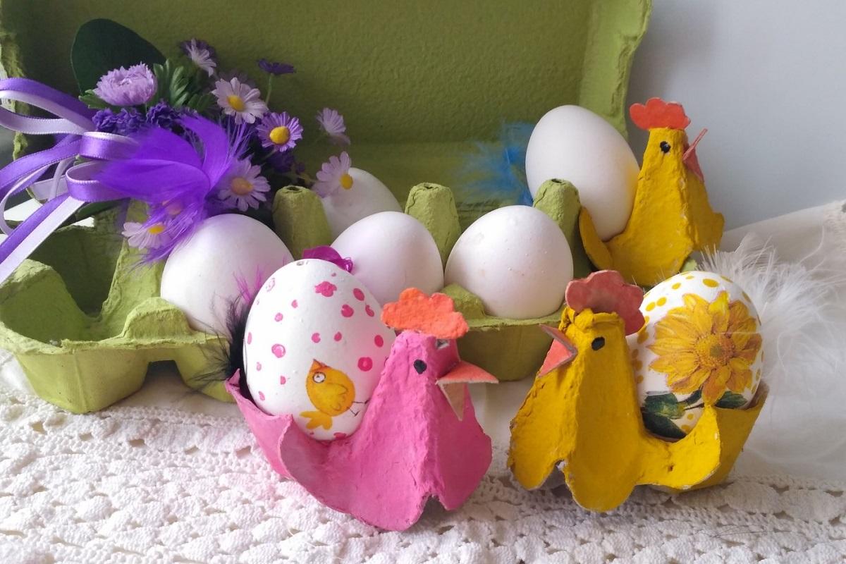 Сделай своими руками подставки для яиц