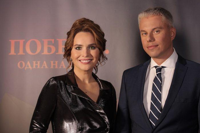 Анастасия Даугуле с Андреем Доманским