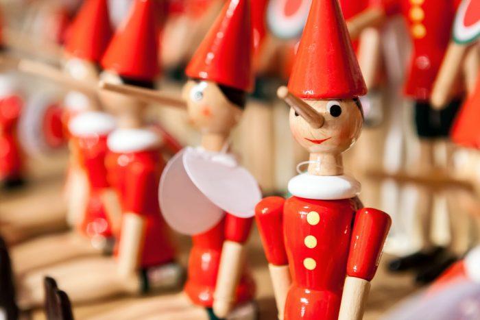 деревянные игрушки пинокио