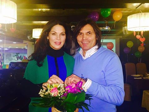 Влада Литовченко с мужем Ольги Сумской