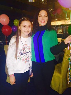 Влада Литовченко с Аней