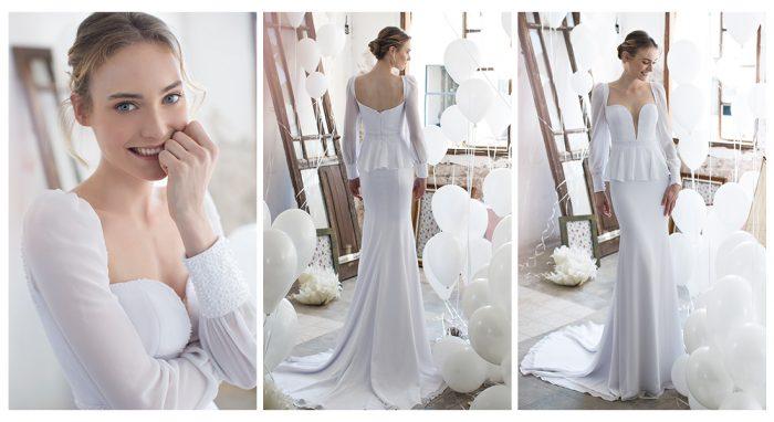 Свадебные платья с нестандартным декольте от Noya Bridal