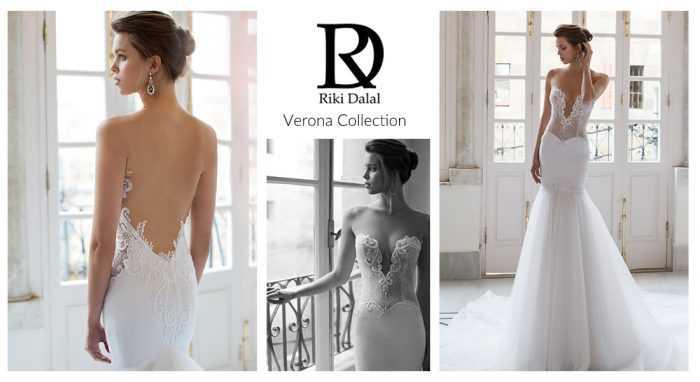 Свадебные платья с открытыми декольте и спиной от Riki Dalal