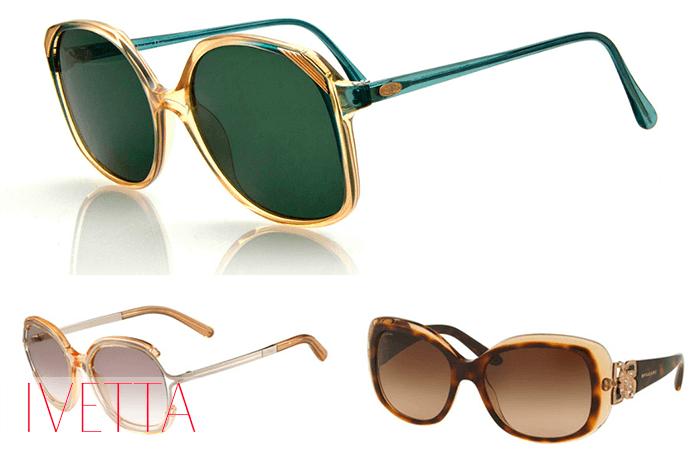 Солнезащитные очки в стиле ретро
