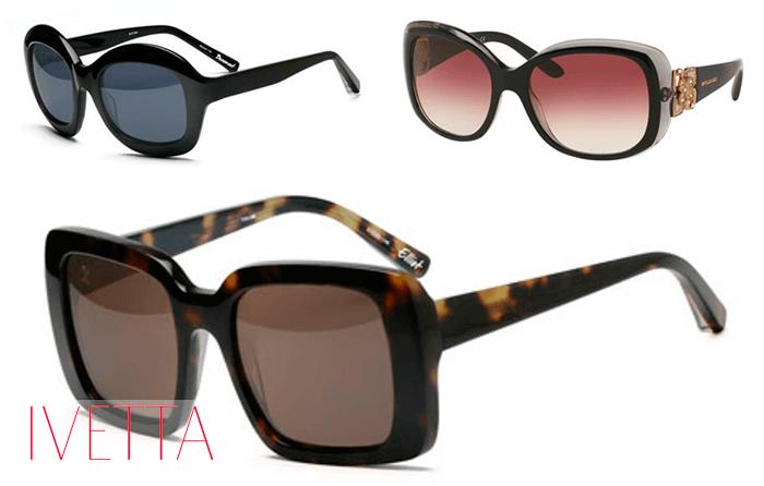 Необычные солнцезащитные очки в стиле ретро