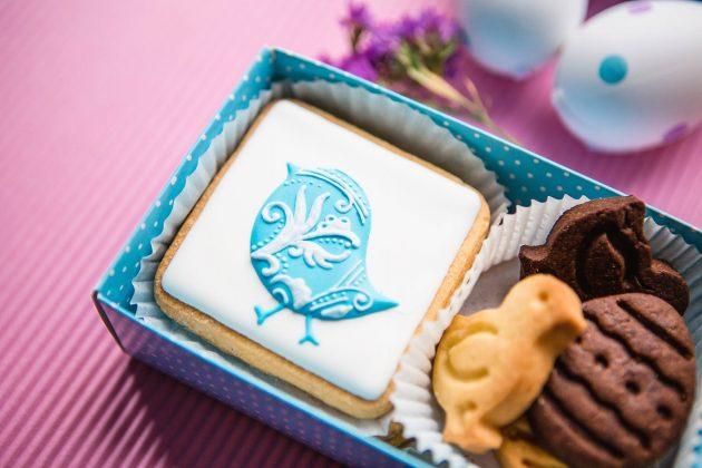 Пасхальный набор печенья из нескольких предметов