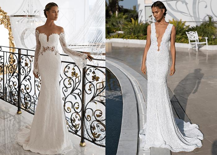 aea55c3aa2f Свадебные платья с вырезом
