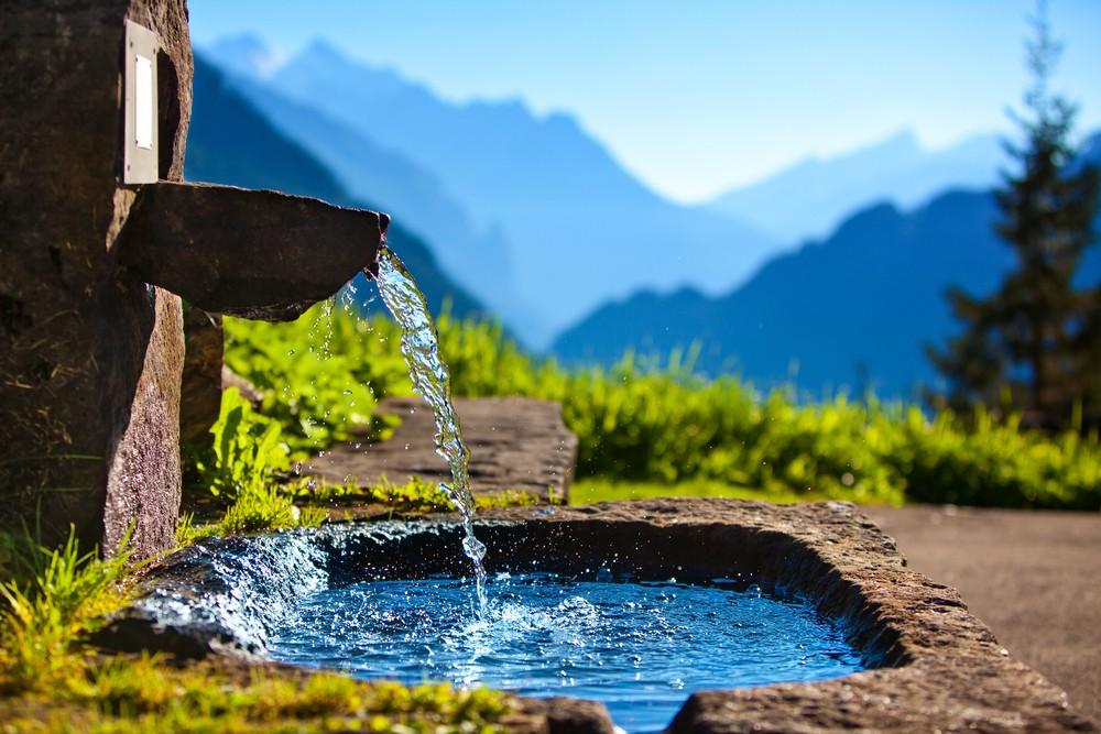 Бежит чистая вода из ручья