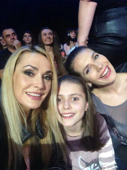 Ольга Сумская с детьми