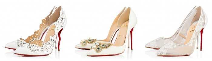 Идеальная свадебная обувь
