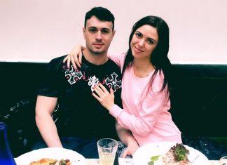 """Вика из группы """"НеАнгелы"""" и ее парень Иван"""
