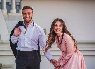 Алена Лесык и Иракли Макацария