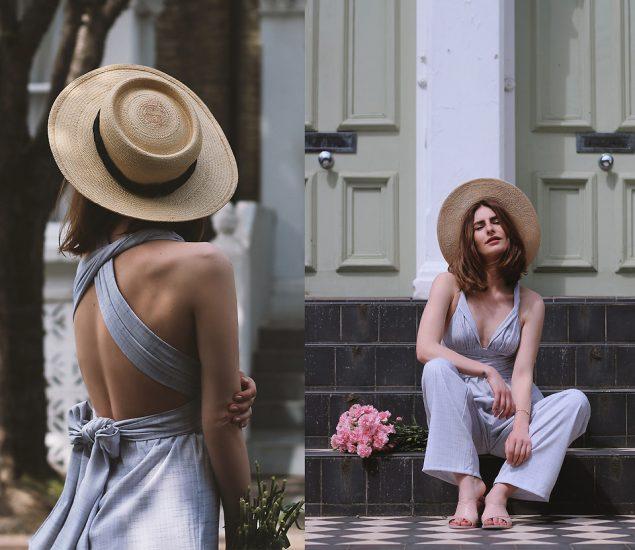 Девушка в соломенной шляпе